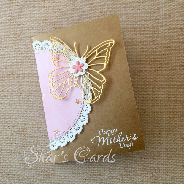 Butterfly Mothers Day card