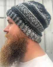 Custom Winter Crochet Beanie
