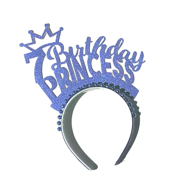 Birthday Princess party headband/ headpiece Party accessory