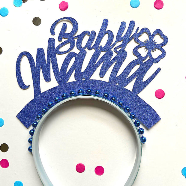 Baby Mama Baby shower/ Gender reveal party headband