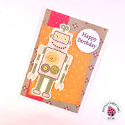 ROBOTS & TECHNO BIRTHDAY CARD COLLECTION