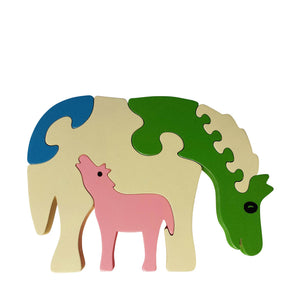 Horse Wooden Animal Puzzle
