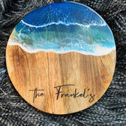 Personalised Ocean Resin art Board