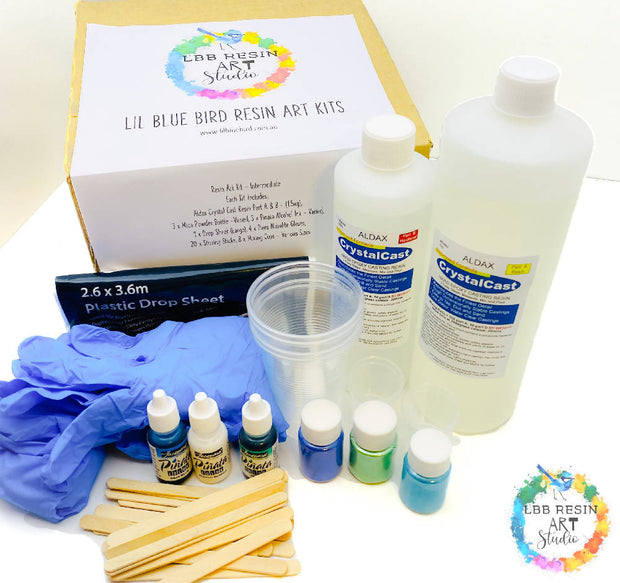 AN INTERMEDIATE EPOXY RESIN KIT - ART