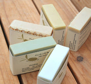 Unscented Varieties of Pure Olive Oil Bar Soap, 5 bars