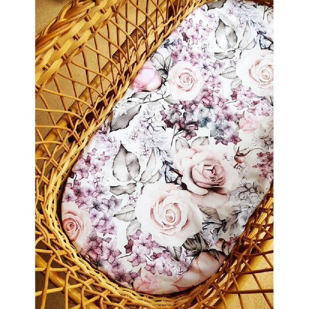 Ava - Bassinet Fitted Sheet