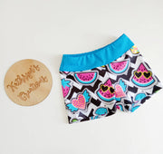Girls' Funky Fruits Sports Shorts - Size 6