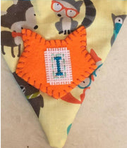 Woodland Animal personalised bunting