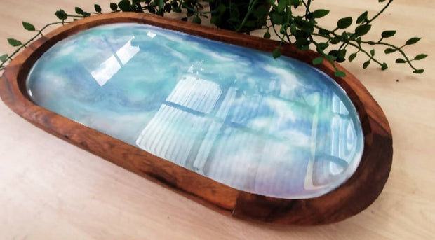 Dreamy Resin Serving Tray