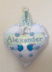 Personalised new baby keepsake