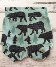 Baby Nappy Cover / Bummies, Bears