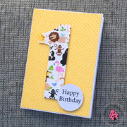 BIRTHDAY NUMBER CARD 1