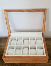 Hardwood Watch Display Box