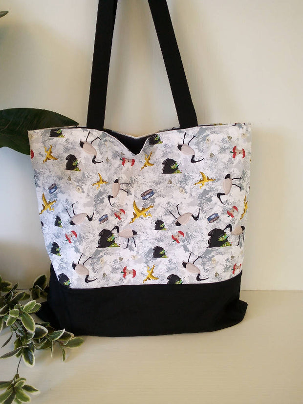 Totes Cotton Lined with Pocket