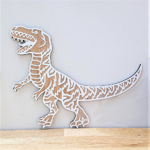 Cute wooden cut outs - Dinosaurs