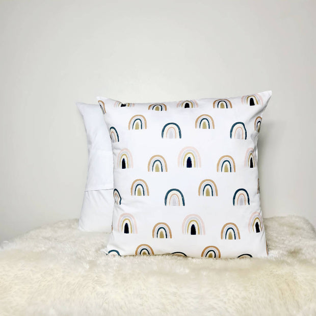 Neutral Rainbows Cushion cover 18inch (45x45cm)