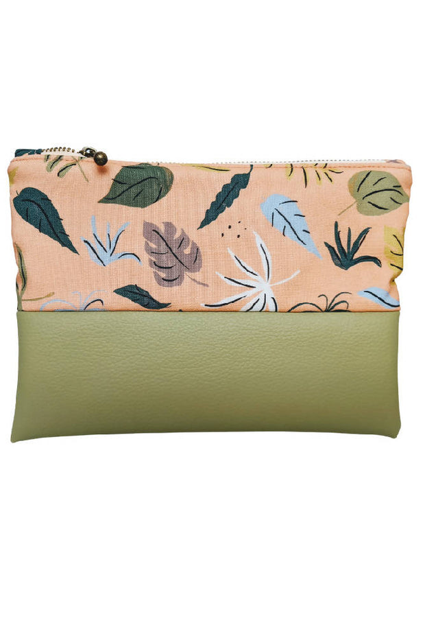 """Tropical"" Zip pouch"