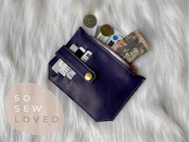 Essential Card and Coin Wallet