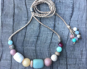 Springtime Gemstone Necklace