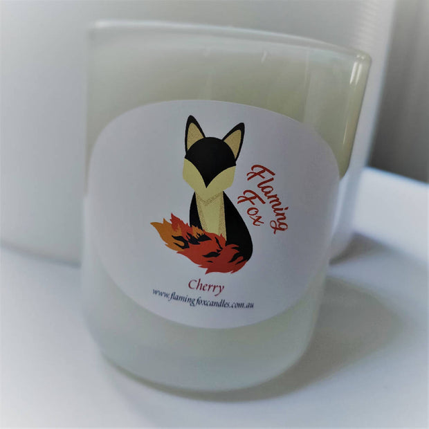 Medium Soy Candle Cherry