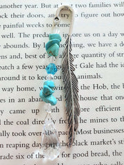 Feather Gemstone Bookmarks