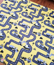 Children's Play Mat-Road Play Tractors