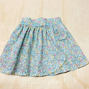 LIBERTY SUMMER RUFFLE SKIRT