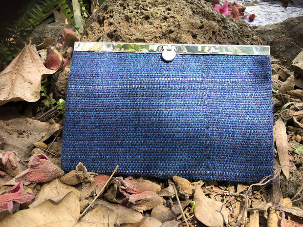 Handwoven or Eco-printed Clutch Wallet