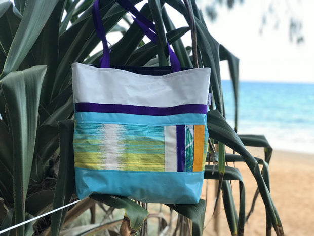 Fusion Totebag - a fusion of upcycled materials