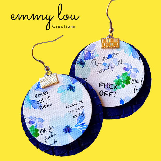 The F Word Earrings