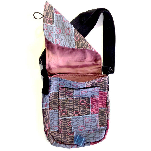 The Wall – Dusk Messenger up-cycled bag - SALE