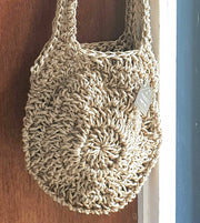 Boho Jute Crocheted Bag