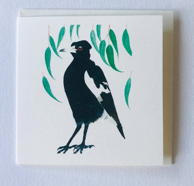Small card - Magpie Card