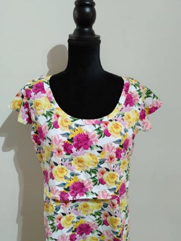 Breastfeeding Flutter Tee