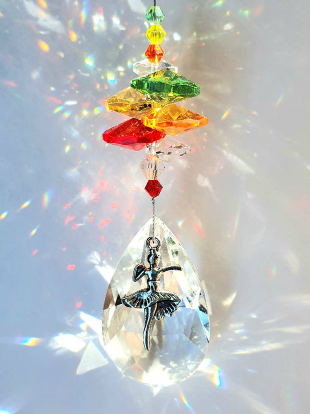 Ballerina suncatchers