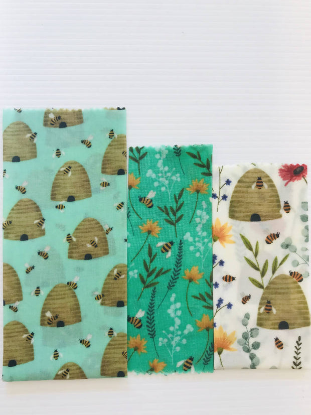 Beeswax Wraps Pack of 3