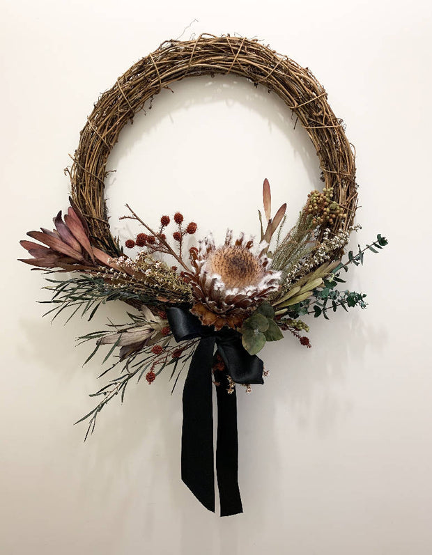 The King of Christmas Wreath