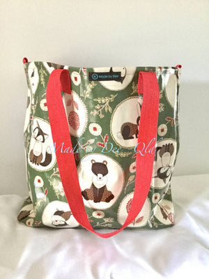 LARGE TOTE BAG - Forest Friends