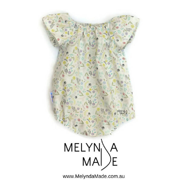 MelyndaMade Handmade Seaside Playsuit - Multiple Sizes