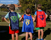 Personalised Super Hero Capes - Made to Order