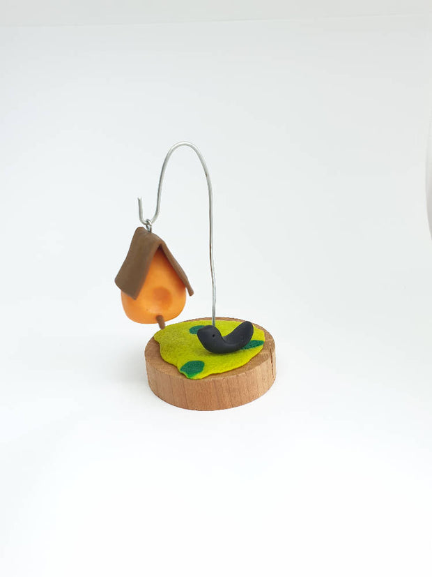 MARKET SPECIAL - Miniature Fairy Garden Bird House