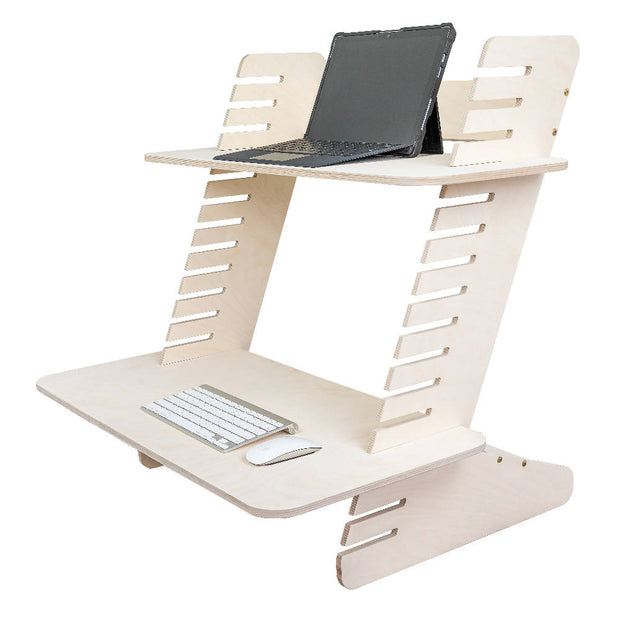 Standing Desk, Adjustable Laptop and Monitor Stand