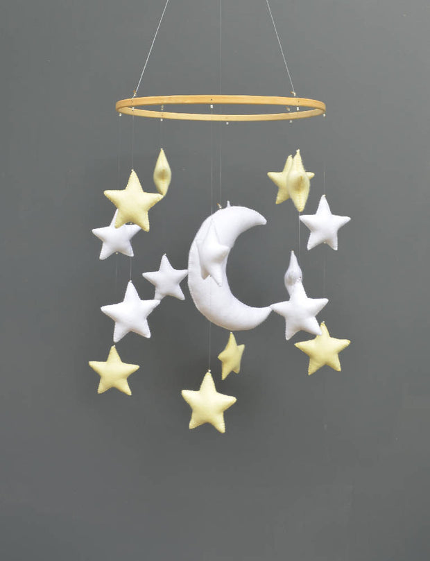 Stars and moon mobile