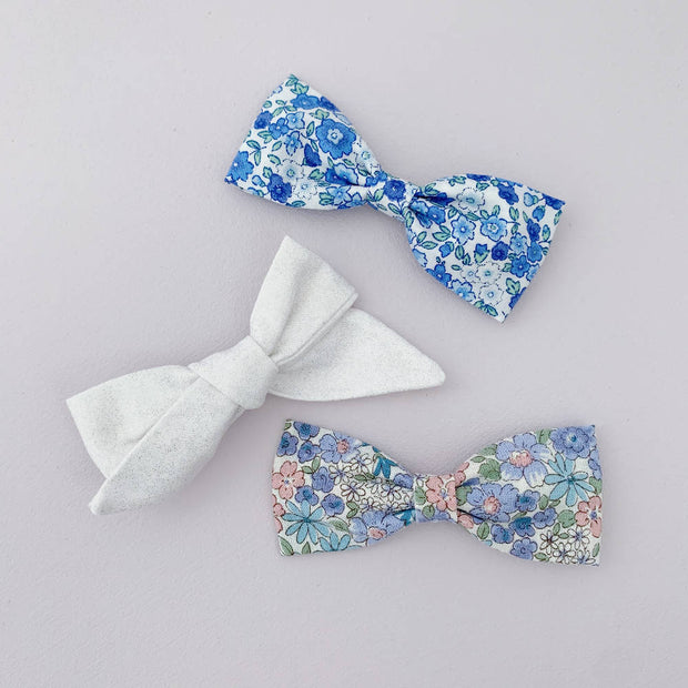 3 Large Bows || Clips - Set #35
