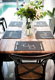 Chalkboard Placemats
