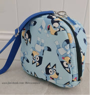 Lunchbags made from licensed Bluey