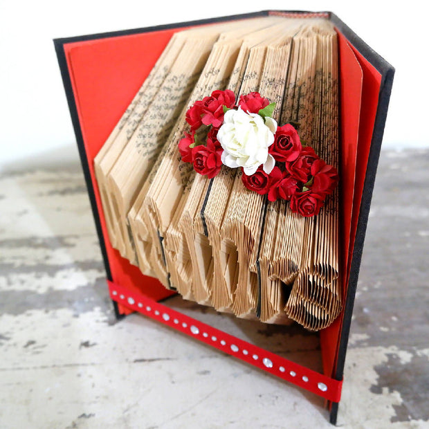 Mr and Mrs Book Fold