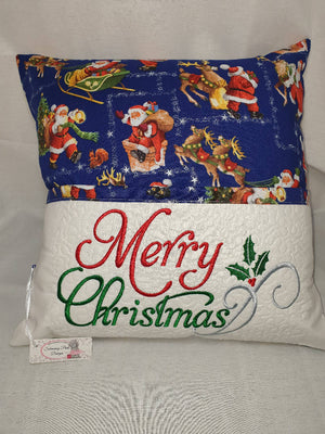 Christmas Storybook Reading Pillow