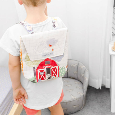 Toddler Backpack - Barnyard Friends