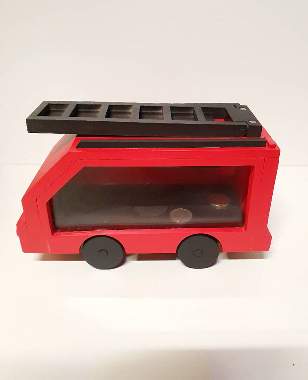 Interactive Fire Truck Money Box